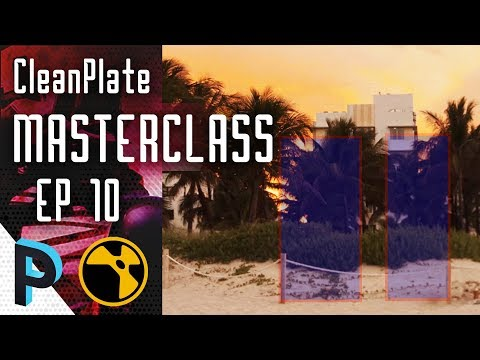 How to do Pan Shot Clean Plate Using 3D Sphere Part 2 - NUKE Clean Plate Masterclass - EP 10 [HINDI]