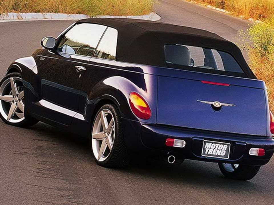 3374 chrysler pt cruiser convertible 2002 prototype car youtube. Black Bedroom Furniture Sets. Home Design Ideas