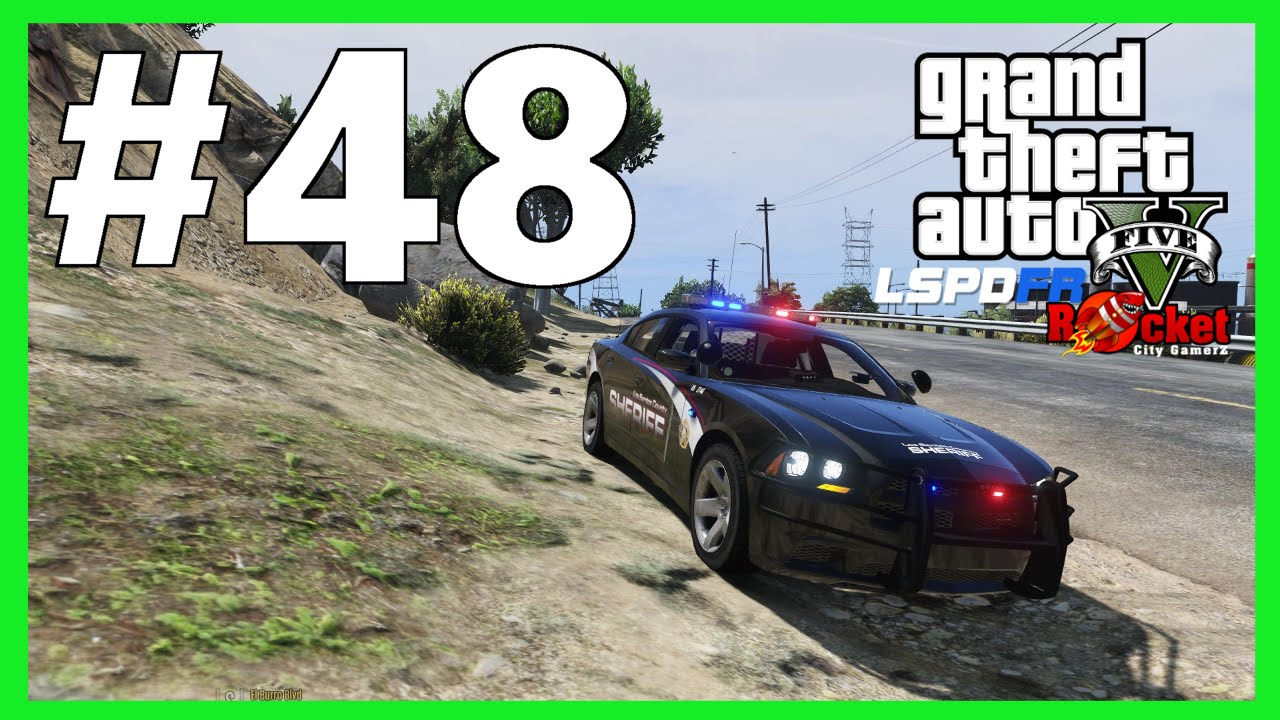 Robberies, Assaults, and Shots Fired | LSSD Partner Patrol | New Vehicle  Skins | GTA V LSPDFR #48