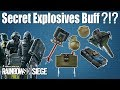 Secret Explosives Mini-Buff?!? - Rainbow Six | Siege