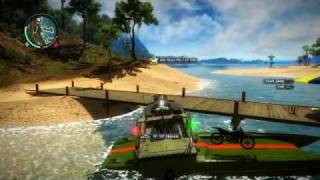 Just Cause 2 crazy boats