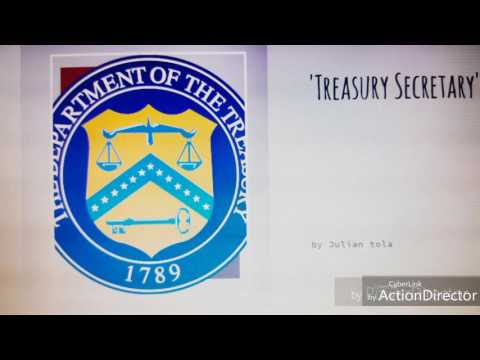 Secretary of treasury