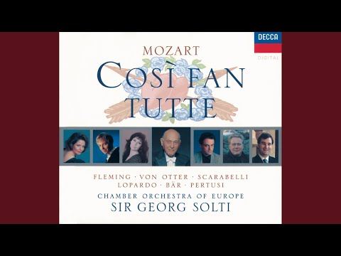 "Mozart: Così Fan Tutte, K.588 / Act 1 - ""Smanie Implacabili"" (Live)"