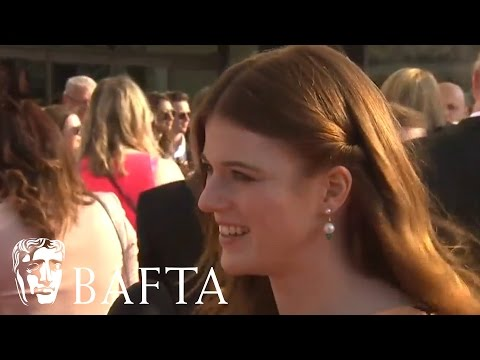 Rose Leslie Red Carpet Interview   BAFTA TV Awards 2016
