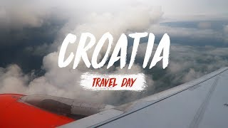 Croatia | Travel Day (Vlog)