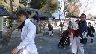 一番祷の矢浜町が、神社に到着しました。