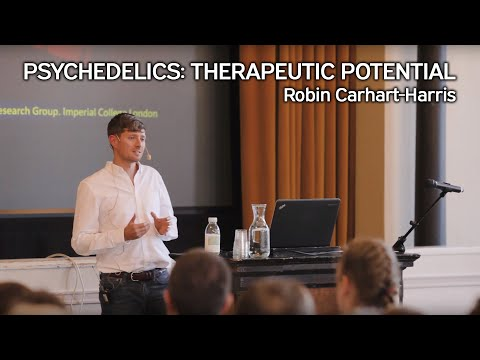 Robin Carhart-Harris – Psychedelics: Therapeutic potential, Helsinki 20.9.2017 (+suom. tekstitys)