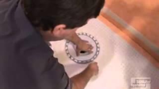 KERDI Drain Installation