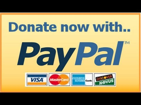 How To Create And Add A Paypal Donation Button In