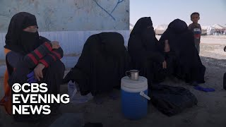 CBS News goes inside Syrian refugee camp filled with ISIS supporters