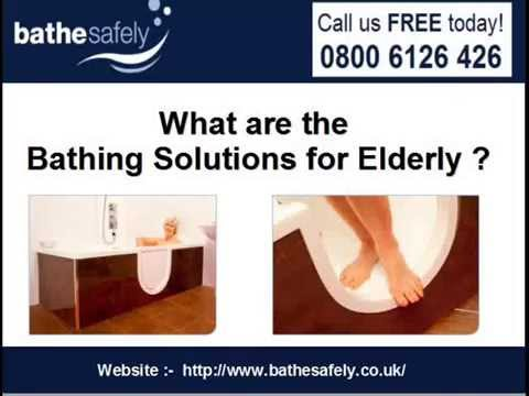 What are the Bathing Solutions for Elderly - YouTube
