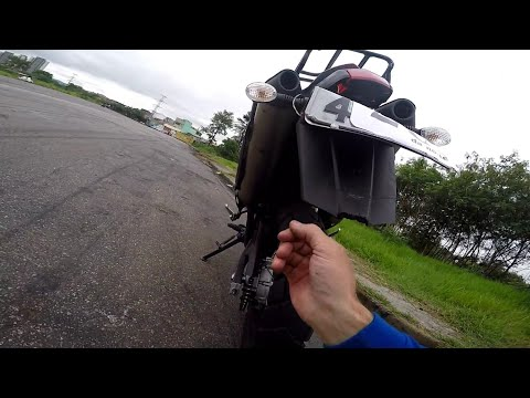 TREINO QUE DEU RUIM   ALEX DA XT660R