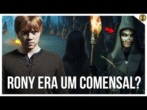 RONY WEASLEY ERA UM COMENSAL DA MORTE EM SEGREDO?