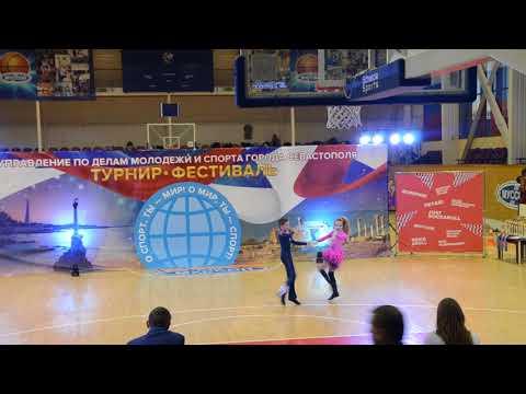 Смотреть клип Перец Юрий -  Писсарик Маша  ( Севастополь 02.12.17. Акробатический Рок-н-ролл ) онлайн бесплатно в качестве