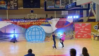 �������� ���� Перец Юрий -  Писсарик Маша  ( Севастополь 02.12.17. Акробатический Рок-н-ролл ) ������