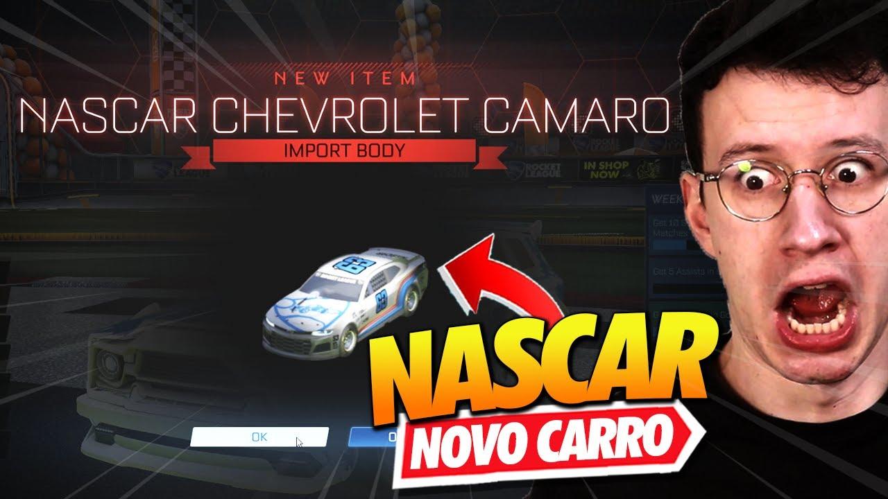 GANHEI O *NOVO CARRO NASCAR* ANTES DA HORA - ROCKET LEAGUE