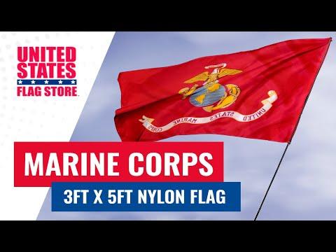 3x5ft Nylon Marine Flag