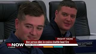 1 dead from shuttle boat fire in Port Richey