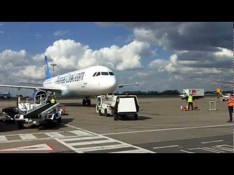 East Midlands Airport - Arrival Ground Handling - Thomas Cook
