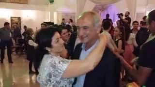 Абхазская свадьба. Танец отца и матери жениха, 2016 год