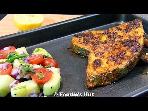 Spicy Spanish Mackerel Fry - Recipe by Foodie's Hut #0112