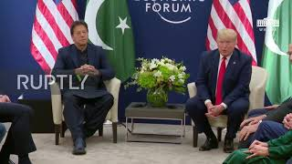 Switzerland: Trump offers help in resolving Kashmir issue at talks with Pakistan's leader Khan