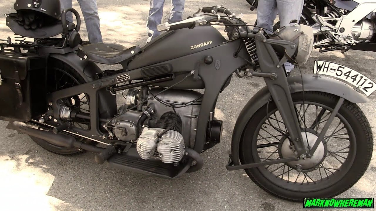 german motorcycle wwii classic