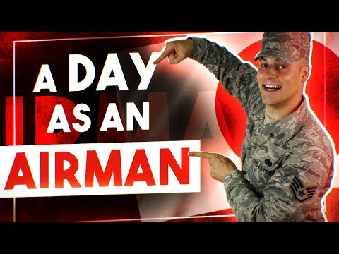 A day in the life of an Enlisted USAF Airman (Swing Shift)