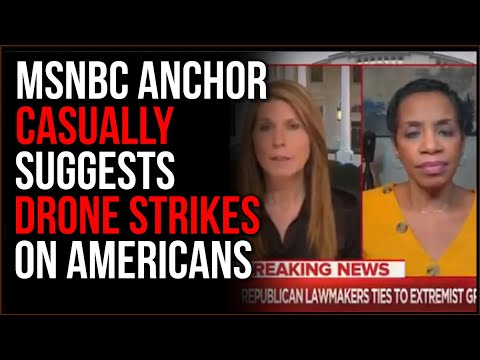 MSNBC Anchor Casually Suggests Targeting Americans With DRONE STRIKES, Panel Doesn't Bat An Eye