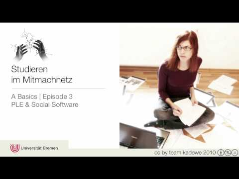 Episode A-3   PLE & Social Software