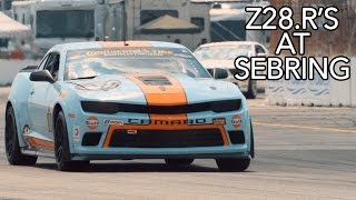 Racing the Camaro Z28.R at SEBRING | Mantella Autosport