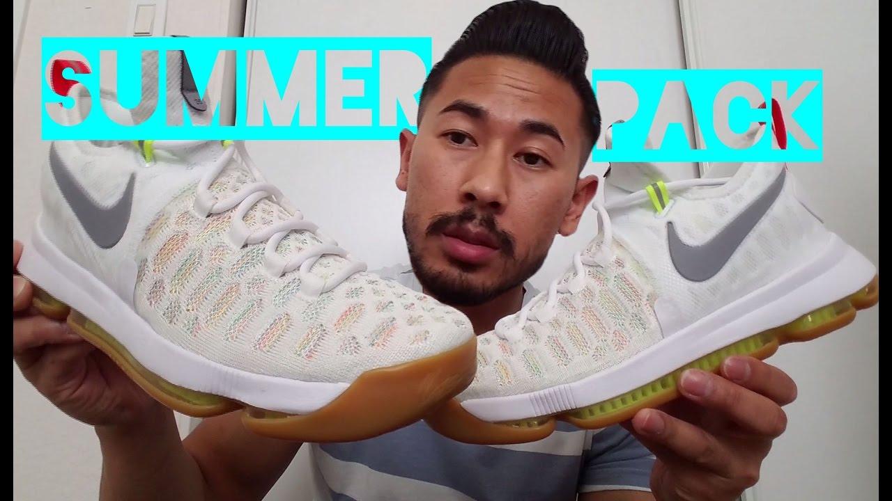 Nike KD 9  Summer Pack  - YouTube ce37d0ed6