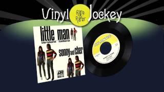 PICCOLO/A RAGAZZO/A (LITTLE MAN)  - SONNY & CHER -TOP RARE VINYL RECORDS - RARI VINILI