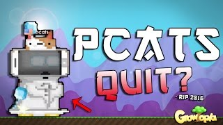 PCATS QUIT!? - CocomonkeyGT/ SweGamerHD | Growtopia | Let's Play ep.1