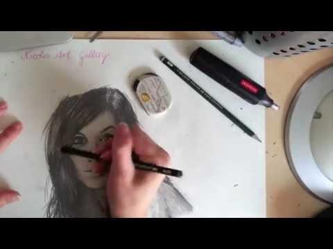 Lichtreflexe richtig setzen / TUTORIAL Haare Augen richtig zeichnen