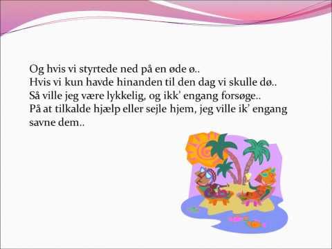 Rasmus Seebach - Øde ø lyrics