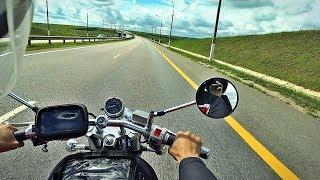 Первый дальняк на мотоцикле / я в ужасе