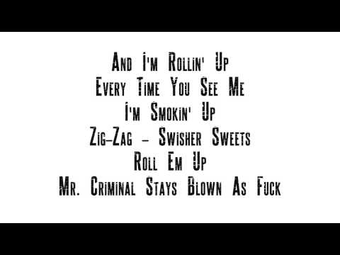 Mr. Criminal - Blaze It Up (With Lyrics On Screen)-Last Of A Dying Breed-2013