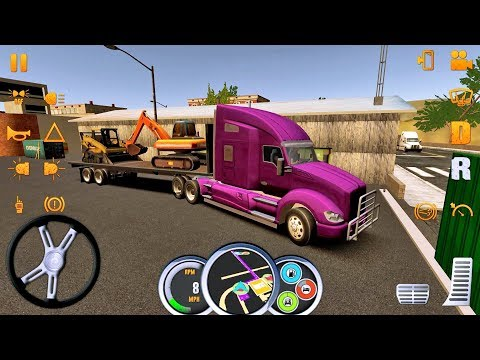 Truck Simulator USA #9 Truck Games Android IOS gameplay