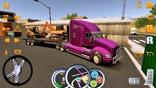 Truck Simulator USA 9 Truck Games roid IOS gameplay