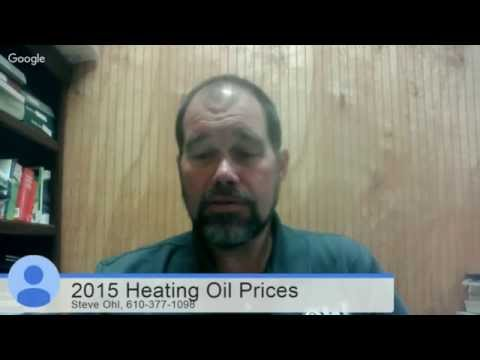 2015 Home Heating Oil Prices in PA : RF Ohl