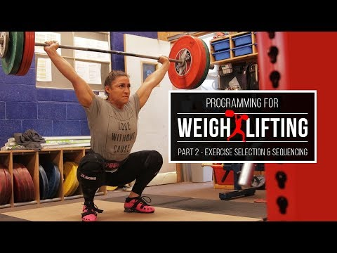 Programming for Weightlifting | Exercise Selection & Sequencing | JTSstrength.com