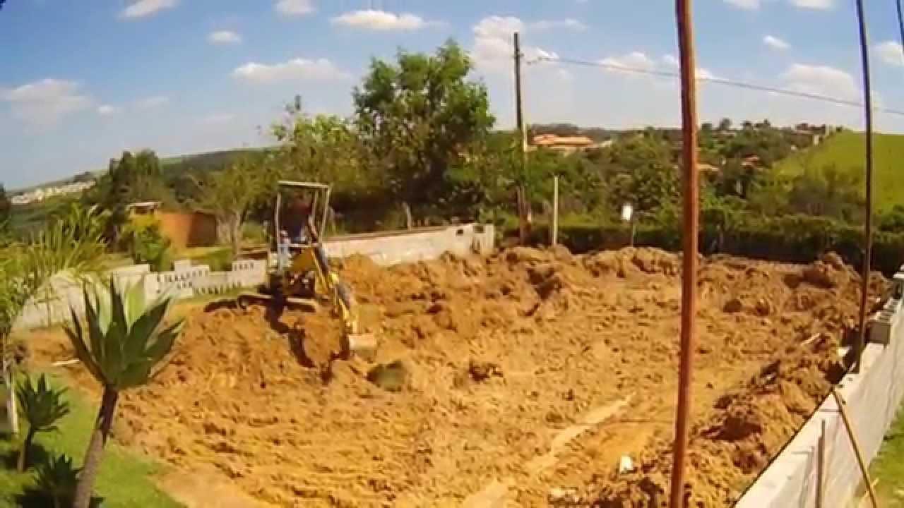 Como fazer um lago de alvenaria parte 01 youtube for Como criar caracoles de jardin