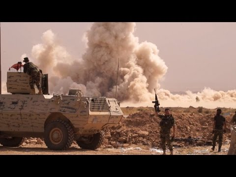 Video: On the road to Mosul with Iraqi, Kurdish forces