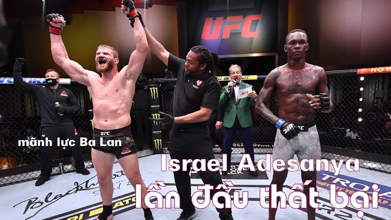 Quái Kiệt UFC Israel Adesanya Lần Đầu Thất Bại Trên Sàn MMA