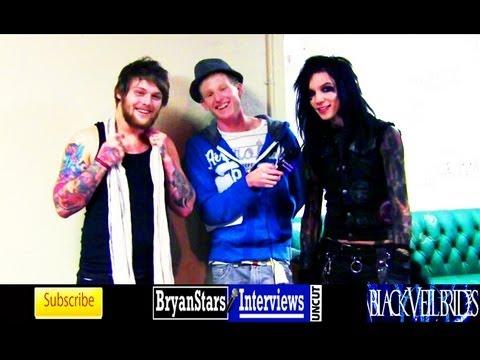 Black Veil Brides Interview #5 Andy Biersack ft. Danny Worsnop Asking Alexandria UNCUT 2012