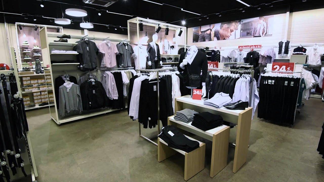 Nouveau magasin g mo la chapelle st aubin youtube for Vetement interieur