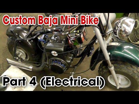 Taryl's Builds - Baja Mini Bike Part 4 (Electrical)