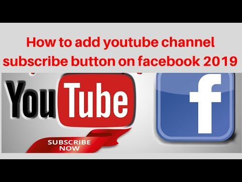 How to add youtube channel subscribe button on facebook 2019 | Digital Marketing Tutorial thumbnail