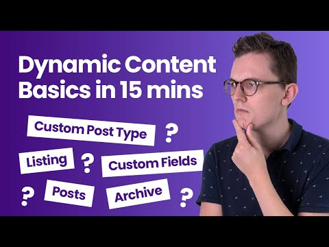 The Basics of Dynamic Content in 15 Minutes for WordPress with Elementor Pro